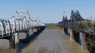 Brücken über den Mississippii