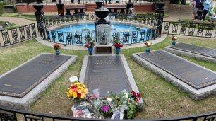 Das Grab von ELVIS.