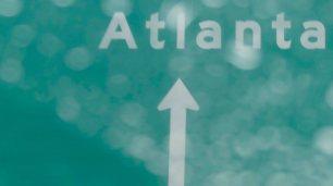 Es regnet Atlanta liegt im