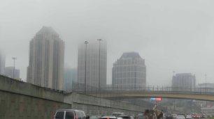 Nebel. Also ab in die