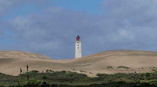 versinkenden Leuchtturm