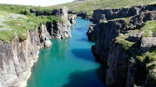 Gletscherfluss Jörkulsá á Dal